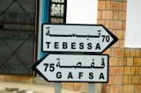 We're headed towards Gafsa. Tebessa is in Algeria