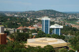 The two highrises are Stanbic Bank