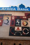 Tropical Africa Bank currencies mosaic