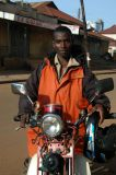 Within the city center, motorcycle taxis cost 1000 shillings