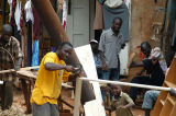 Another carpentry workshop on Hoima Road