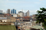 View of Kampala central business district from Old Kampala