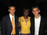 Prom night in Kampala with 2 students of the International School
