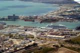 Port of Tunis, Tunisia with a cruise ship