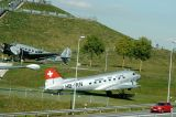 Swissair DC-3 on display at MUC (HB-IFN)