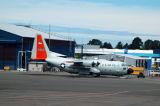 US Air Force C130 on skis, Christchurch NZ (30942)