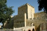 Castelo São Jorge, originally built by the Visigoths in the 5th C, enlarged by the Moors in the 9th C
