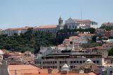 The opposite hill from Barrio Alto from Calçada do Duque