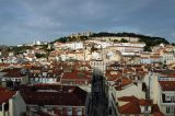 Looking down on Baixa, the lower town, from Barrio Alto, the upper town