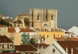 Sé Catedral from Barrio Alto at the top of Elevador de Santa Justa