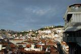 Top of the Elevador de Santa Justa