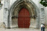 Main doorway to the ruins of the Igreja do Carmo