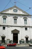 Igreja São Roque, post earthquake façade