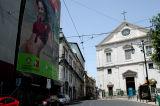 Igreja São Roque & Rua da Misericórdia