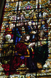 Manuel I of Portugal in stained glass