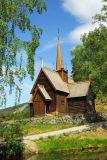 Garmo Stave Church, ca 1200, Maihaugen