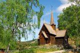 Gamle stavkirke fra Garmo i Lom
