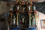 Interior, Garmo Stave Church, Maihaugen