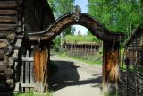 Gate to the Bjørnstad-Hof, Maihaugen