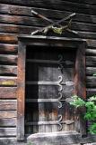 Door of Garveriet, Fåberg, Lillehammer
