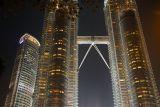 Petronas Towers are the centerpiece of the KLCC - Kuala Lumpur City Centre