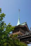 Tower behind Kodai-ji Temple