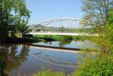 Bridge over the Berounka River at Karlštejn