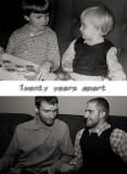 Twenty years apart