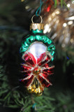 Blown glass wreath