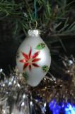 Blown glass ornament