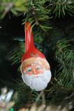 Hand painted Santa spoon