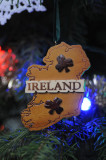 Wood ornament from N. Ireland