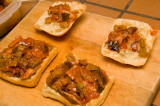 vegetable tapenade sandwiches