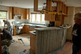 New kitchen coming together... 2010