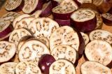 indian eggplant slices