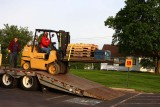 Forklift Unloading