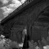 Ex-PRR Bridge near Oaks