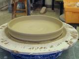 Saucer for Large Pot - Thrown
