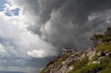 Saddleback Storm Clouds 08 July 2010