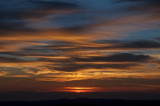 Harvest Moon Sunset 29 Sept 2012