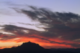 Sierra Buttes Pre-Dawn 05 Oct 2012