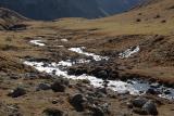 Small river near the Julier Pass
