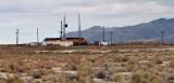 Union Pacific locomotives idling at Burmester, Utah