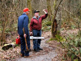 A week after I discovered the fallen tree, Ken and Carl discuss the challenge ahead