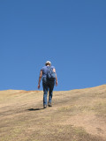 hiking up the koppie