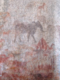 Rock paintings outside of Harare