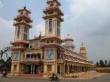 Cao Dai temple in Tay Ninh (Holy See)