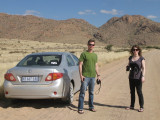 Brendan, Shannon, and the rental car