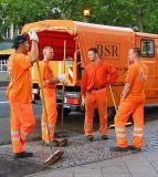 Men in orange