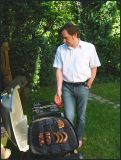 Cool looking grillmaster Martin